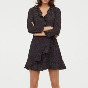 H&M Wrap mini dress